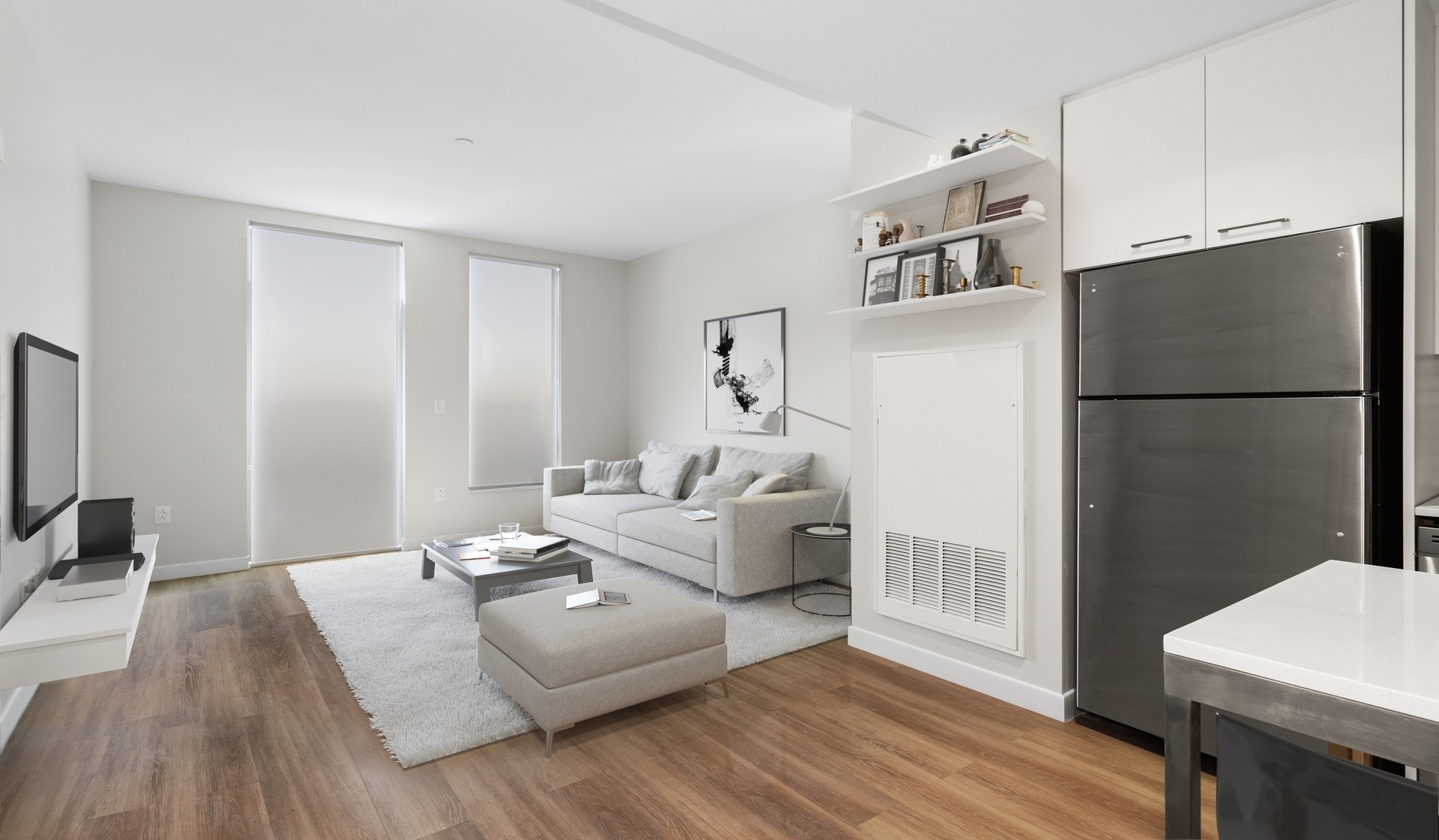 Prism Apartments | Cambridge, MA | Living